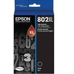 Epson 802XL Black High Yield (Genuine)