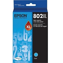 Epson 802XL Cyan High Yield (Genuine)