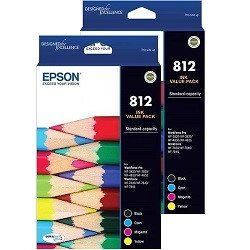 Epson 812 8 Pack Bundle (Genuine)