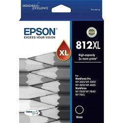 Epson 812XL Black High Yield (Genuine)