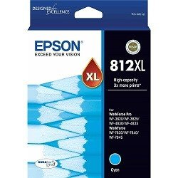 Epson 812XL Cyan High Yield (Genuine)