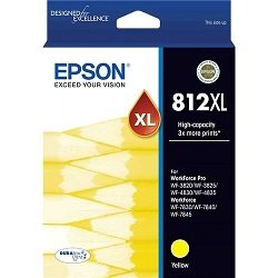 Epson 812XL Yellow High Yield (Genuine)