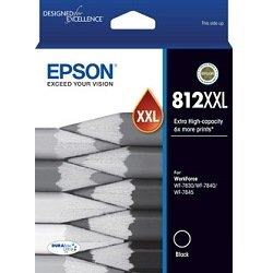 Epson 812XXL Black Extra High Yield (Genuine)
