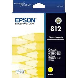 Epson 812 Yellow (Genuine)