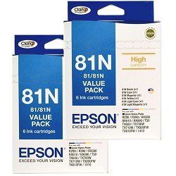 Epson 81N 12 Pack Bundle (Genuine)