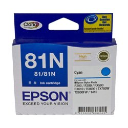 Epson 81N Cyan High Yield (T1112) (Genuine)