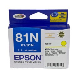 Epson 81N Yellow High Yield (T1114) (Genuine)