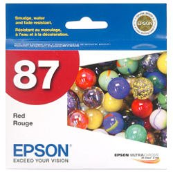 Epson 87 Red (T0877) (Genuine)