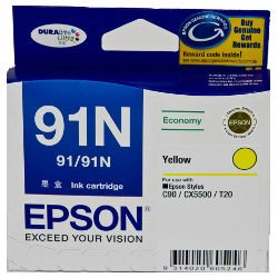 Epson 91N Yellow (T1074) (Genuine)