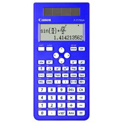 Canon F-717SGA-Blue Calculator