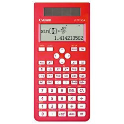 Canon F-717SGA-Red Calculator