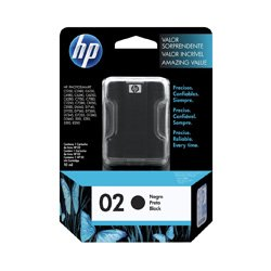 HP 02 Black (C8721WA) (Genuine)