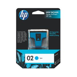 HP 02 Cyan (C8771WA) (Genuine)