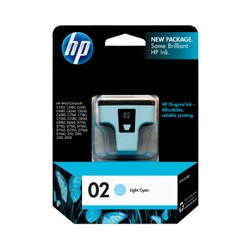 HP 02 Light Cyan (C8774WA) (Genuine)