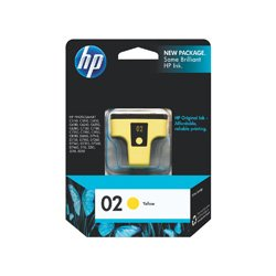HP 02 Yellow (C8773WA) (Genuine)