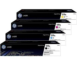 HP 119A 4 Pack Bundle (W2090A-W2092A) (Genuine)