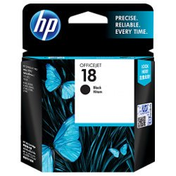 HP 18 Black (C4936A) (Genuine)