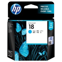 HP 18 Cyan (C4937A) (Genuine)