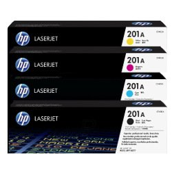 HP 201A 8 Pack Bundle (CF400A-CF403A) (Genuine)