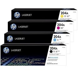 HP 204A 4 Pack Bundle (Genuine)