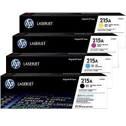 HP 215A 4 Pack Bundle (W2310A-12A) (Genuine)