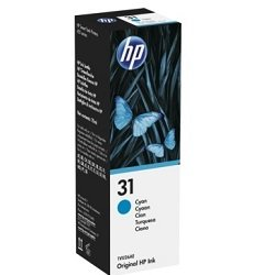 HP 31 Cyan (1VU26AA) (Genuine)