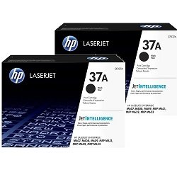 HP 37A 2 Pack Bundle (CF237A) (Genuine)