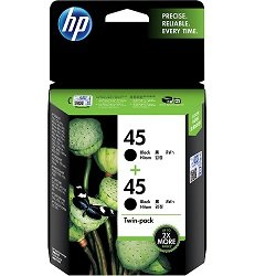 HP 45 2 Pack Bundle (Genuine)
