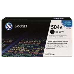 HP 504A Black (CE250A) (Genuine)