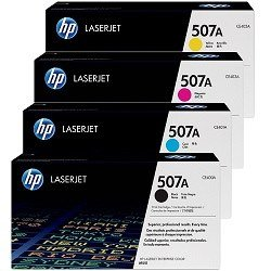 HP 507A 4 Pack Bundle(Genuine)