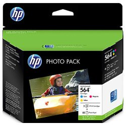 HP 564 3 Pack Bundle (Genuine)
