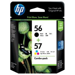 HP 56/57 (C6656AA-C6657AA)2 Pack Bundle (Genuine)