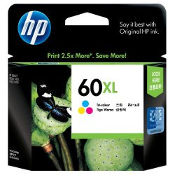 HP 60XL Colour High Yield (CC644WA) (Genuine)