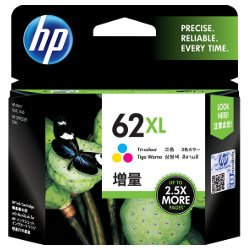 HP 62XL Tri-Colour High Yield (C2P07AA) (Genuine)