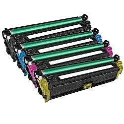 Remanufactured 651A 5 Pack Bundle (CE340A-CE342A)