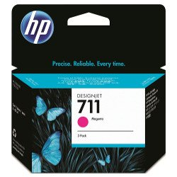 HP 711 3 Pack Magenta Value Pack (Genuine)