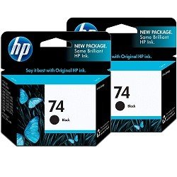 HP 74 2 Pack Bundle (CB335WA) (Genuine)