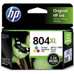 HP 804XL Tri-Colour High Yield (T6N11AA) (Genuine)