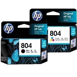 HP 804 2 Pack Bundle (T6N09AA-10AA) (Genuine)