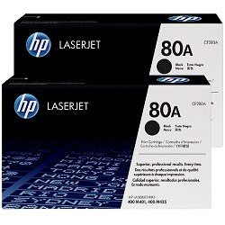 HP 80A 2 Pack Bundle (CF280A) (Genuine)