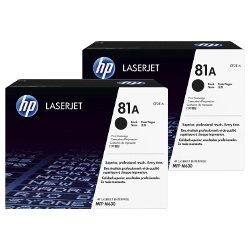 HP 81A (CF281A) 2 Pack Bundle (Genuine)