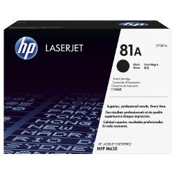 HP 81A Black (CF281A) (Genuine)