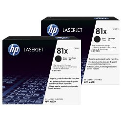 HP 81X (CF281X) 2 Pack Bundle (Genuine)