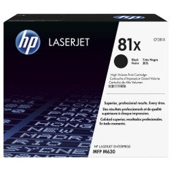 HP 81X Black High Yield (CF281X) (Genuine)