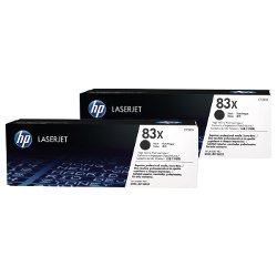 HP 83X (CF283X) 2 Pack Bundle (Genuine)