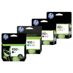 HP 950XL/951XL (CN045AA-CN048AA) 4 Pack Bundle (Genuine)