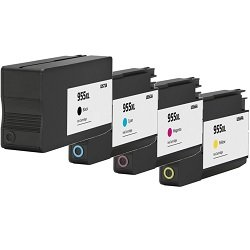 Remanufactured 955XL 5 Pack Bundle (L0S63AA-L0S72AA)