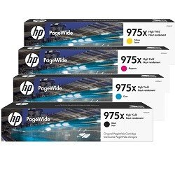 HP 975X 4 Pack Bundle (L0S00/03/06/09AA) (Genuine)