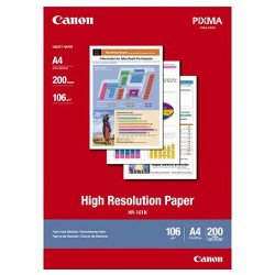Canon HR-101NA4-200 A4 High Resolution Paper