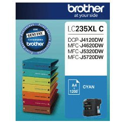 Brother LC235XL C Cyan High Yield (Genuine)